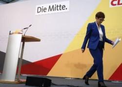 Аннегрет Крамп-Карренбауэр отказалась баллотироваться в канцлеры ФРГ