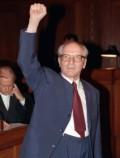 Э. Хонеккер на судебном процессе, ноябрь 1992